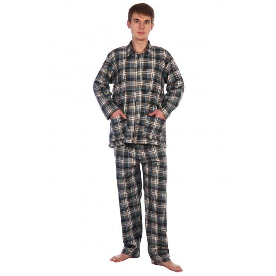 Пижама мужская фланелевая ПФ-2
