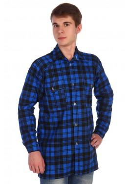 Рубашка мужская фланелевая РФ-1