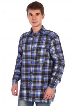 Рубашка мужская фланелевая РФ-3