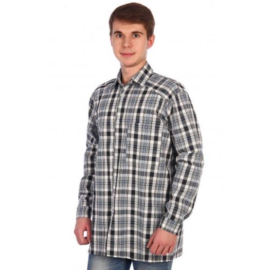 Рубашка мужская шотландка РШ-3