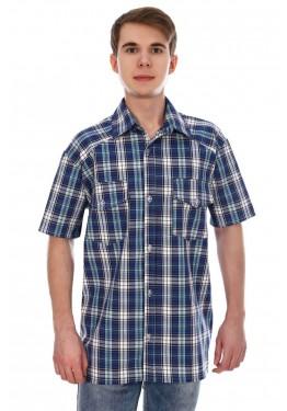 Рубашка мужская шотландка РШ-4